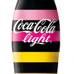 Coca Cola Light a rayas