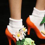 Zapatos de punto por Junko Shimada