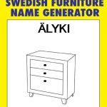 Tu nombre en versión IKEA
