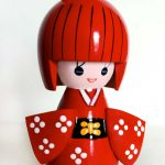 Muñeca japonesa made in China