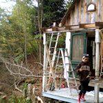 Una pequeña cabaña victoriana