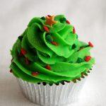Mis primeros cupcakes navideños