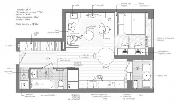 apartamento micro 14